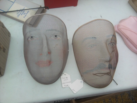 Antique Costume Masks