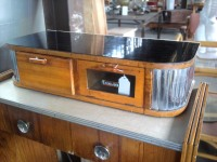 Vintage Barber Work Bench with Sterilizer Drawer